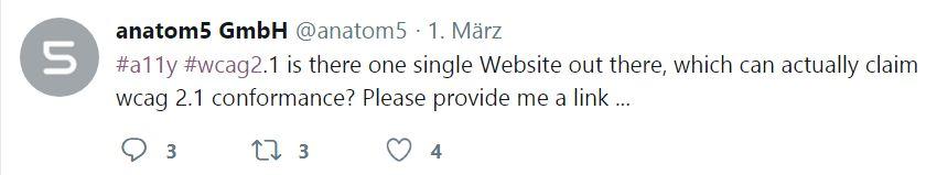 Screenshot Twitter-Umfrage