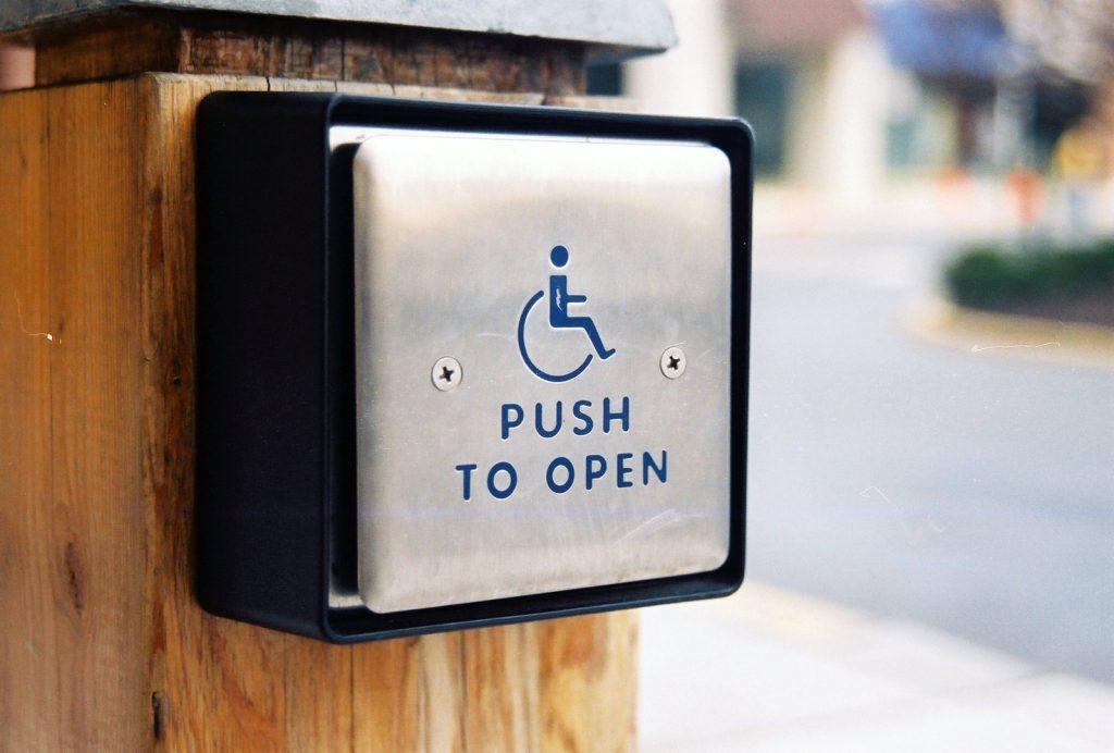 """Automatischen Türöffnungsschalter: """"Push to open"""""""